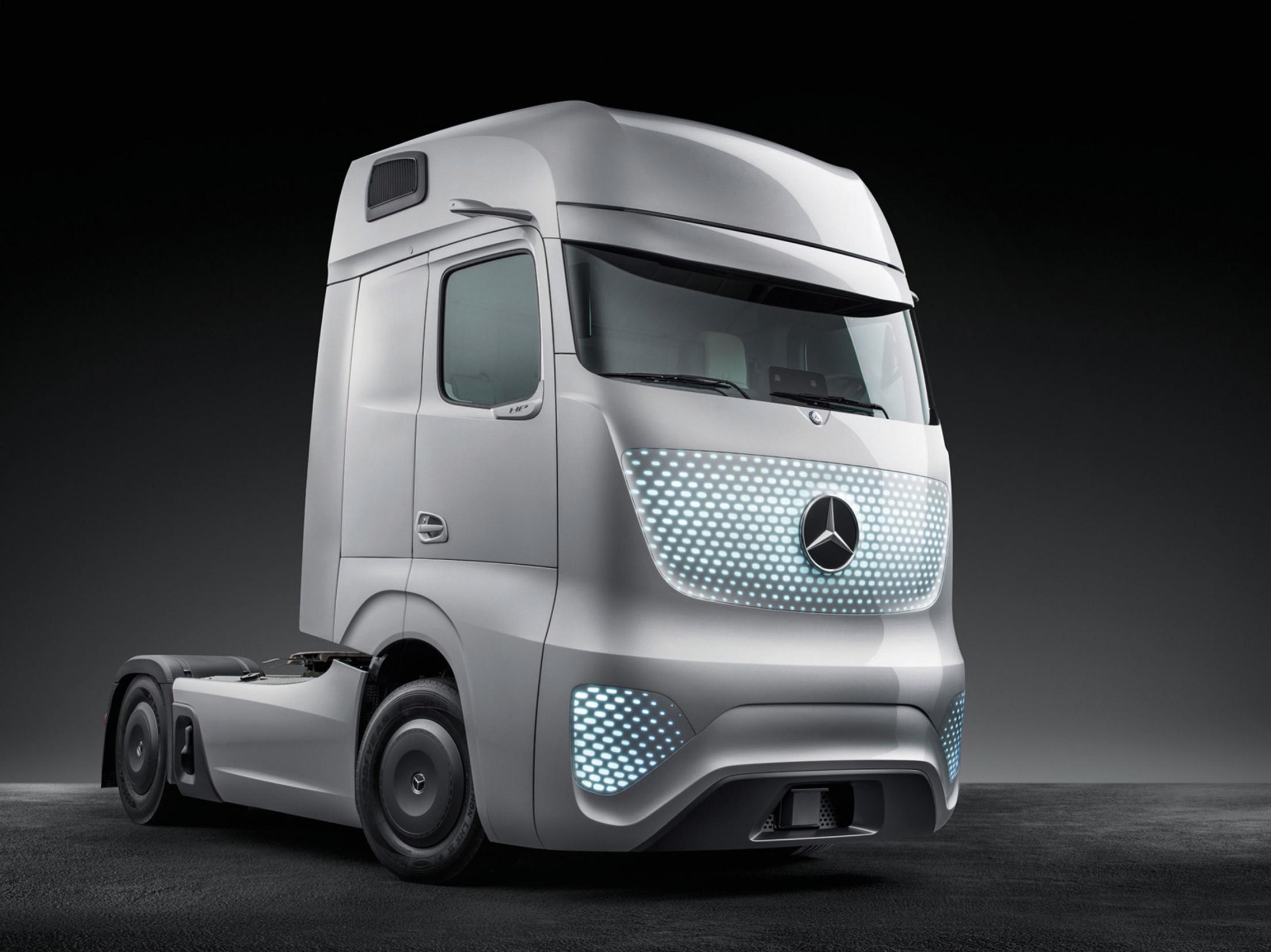 mercedes-benz future truck 2025 - winner transportation