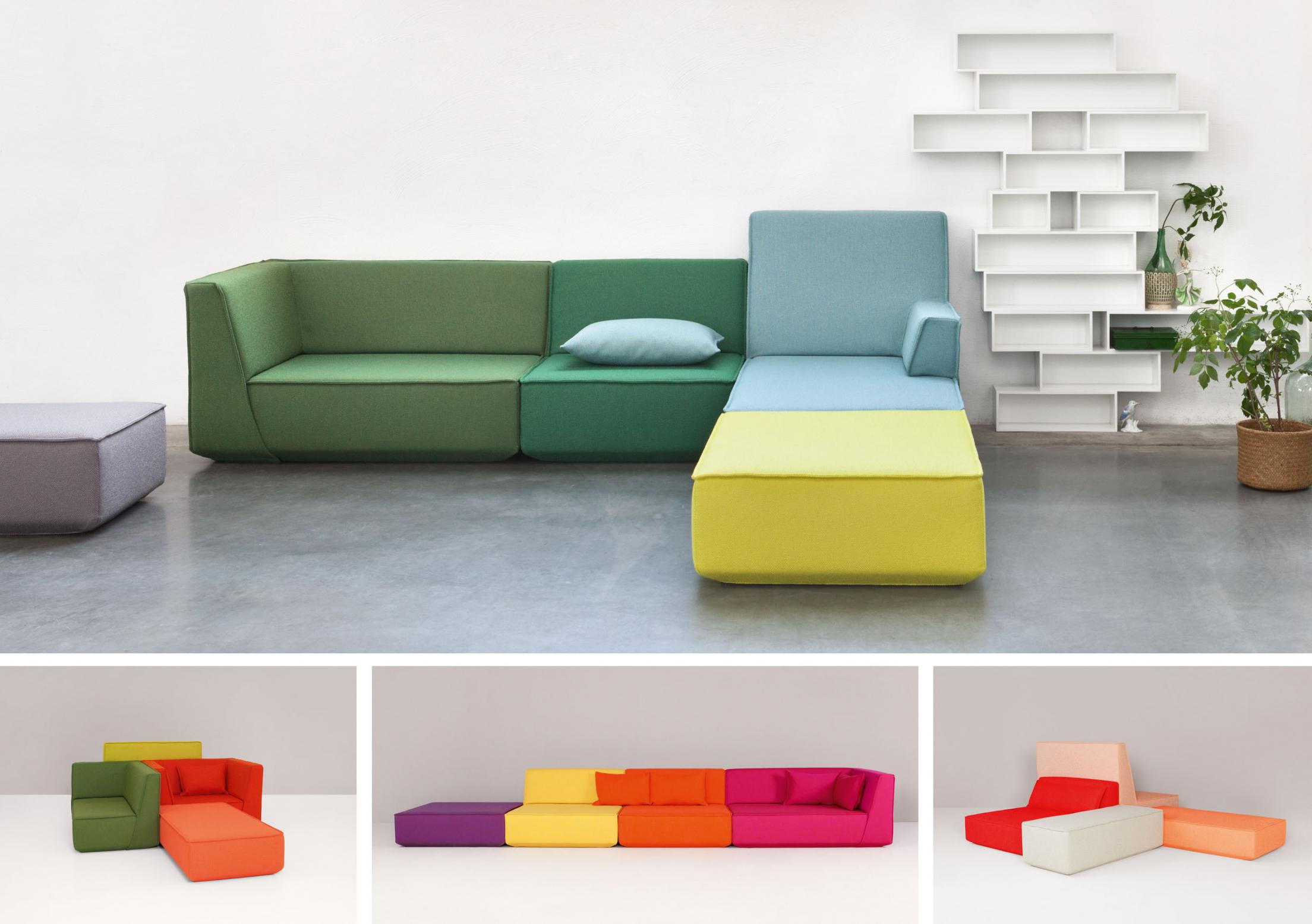 Cubit sofa modulares sofasystem special mention furniture for Sofas modulares