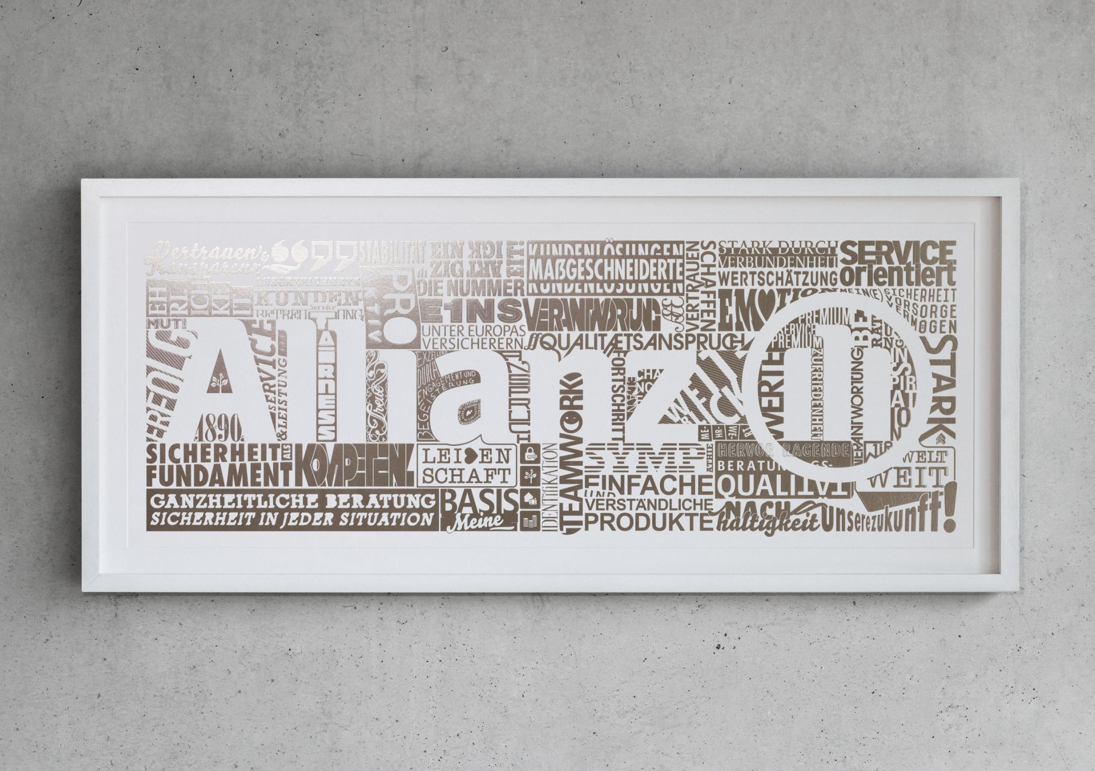 Allianz Art Edition – Hot Foil Stamping