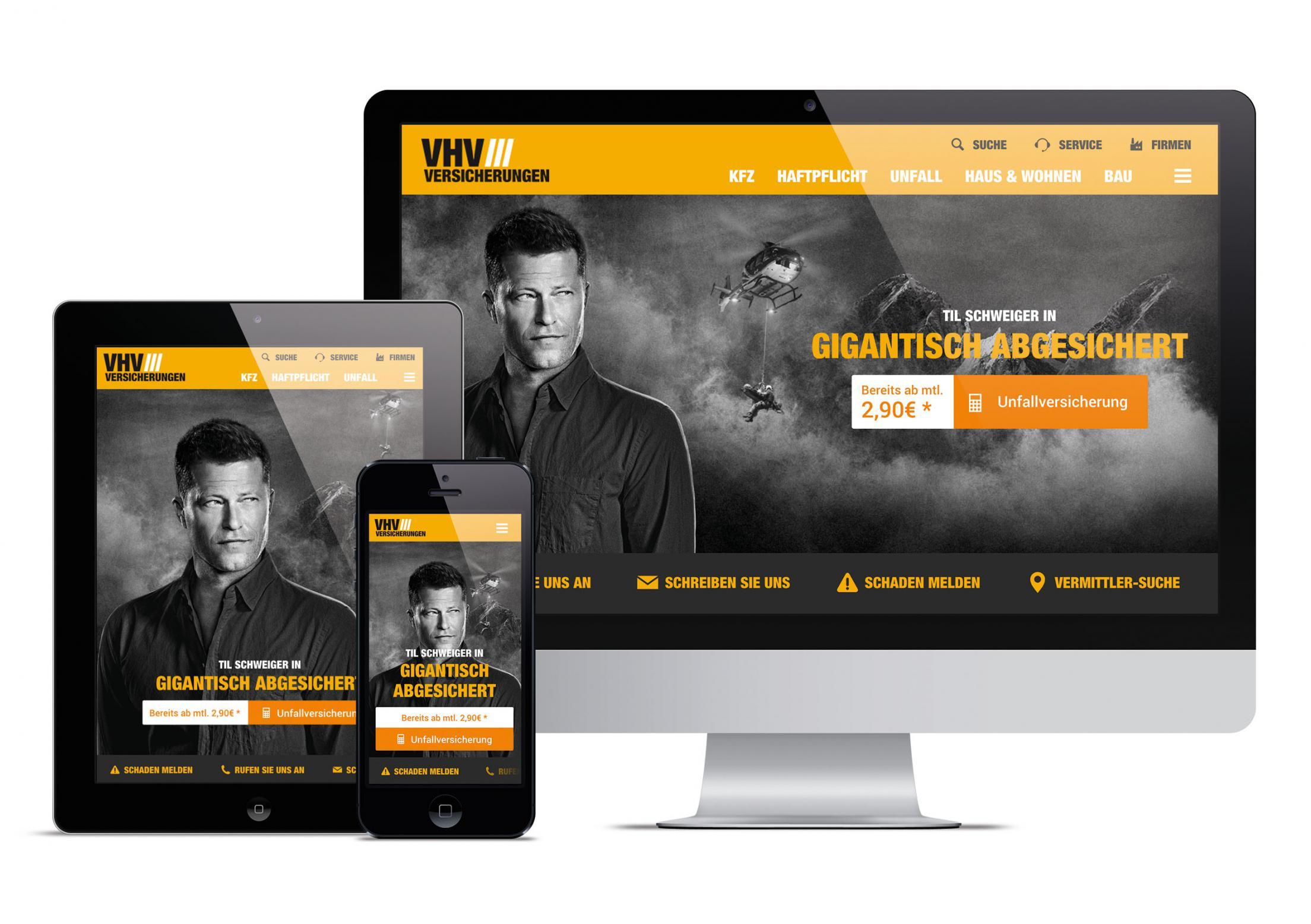 Relaunch Der Vhv Versicherung Winner Web