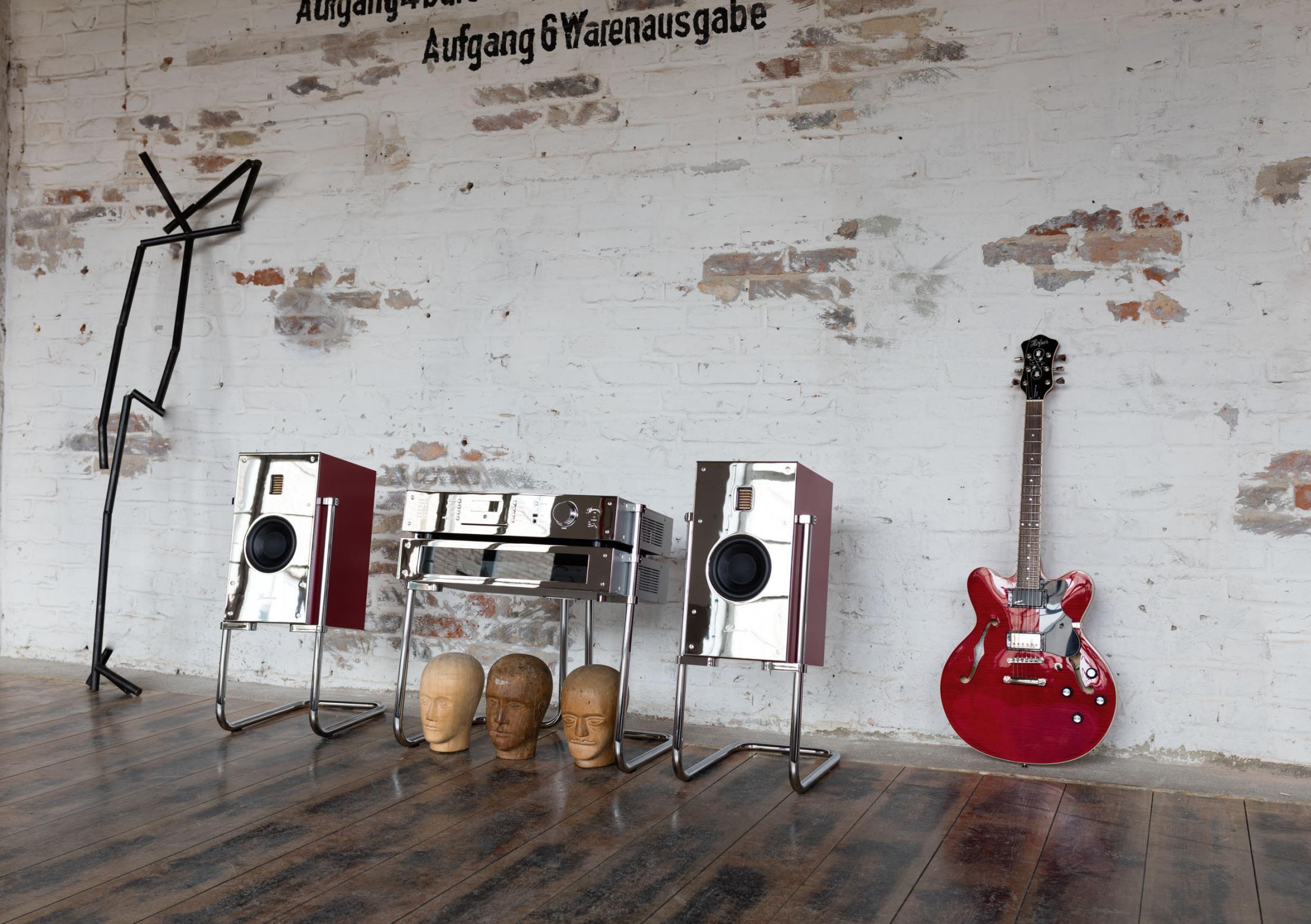 burmester high end musikanlage phase 3 retro special. Black Bedroom Furniture Sets. Home Design Ideas