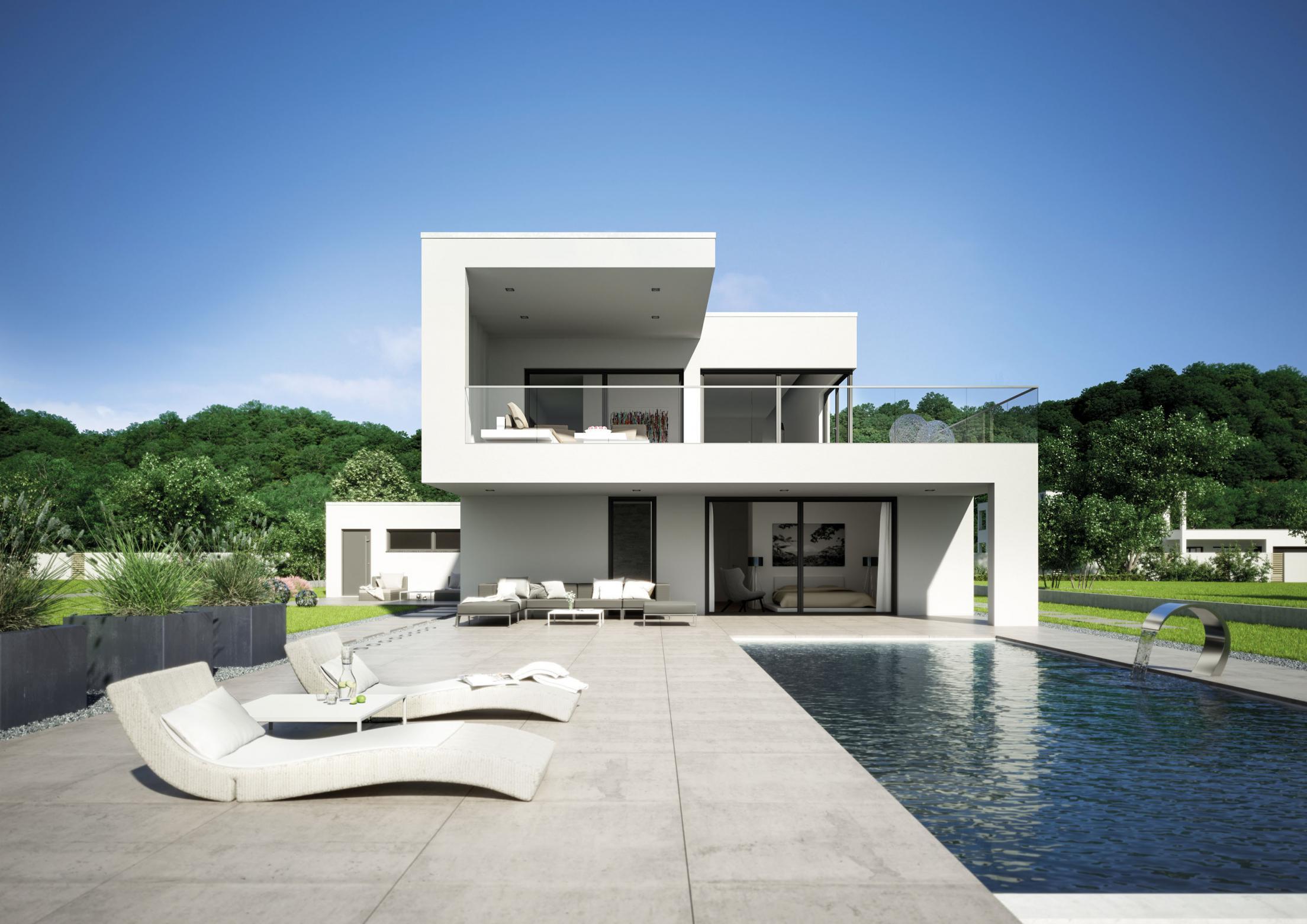 Architektenhaus arta die moderne kunst des wohnens winner architecture - Moderne architektenhauser ...