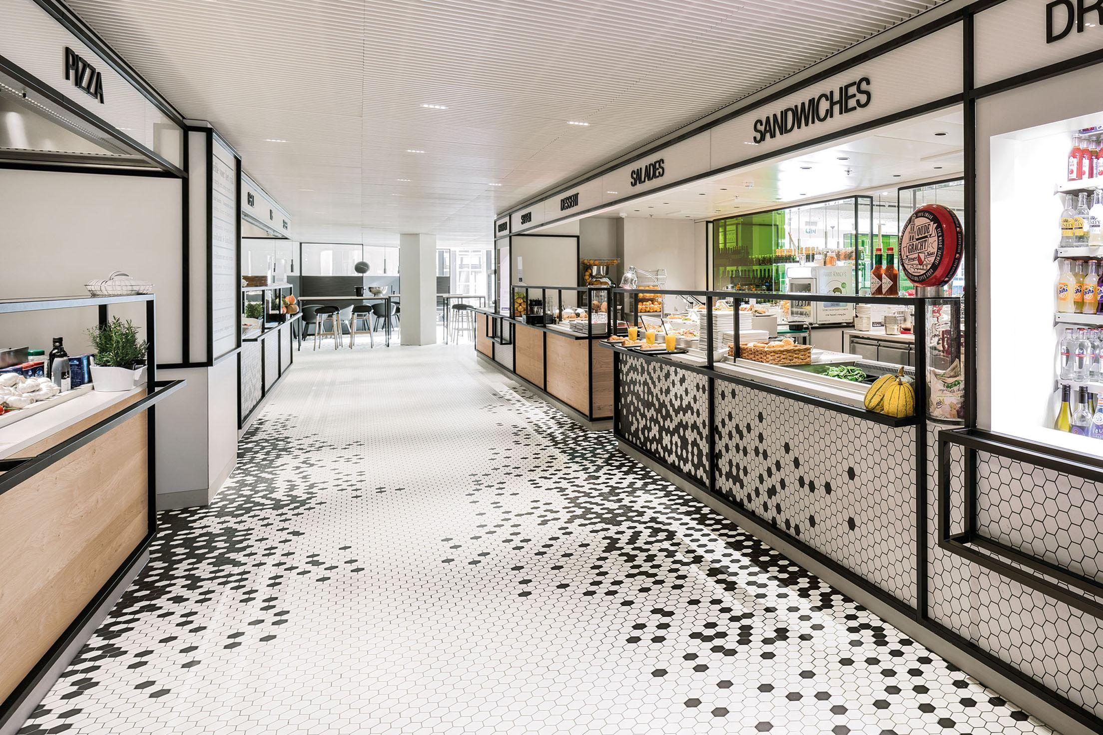 De Bijenkorf Restaurant - Winner Retail Architecture