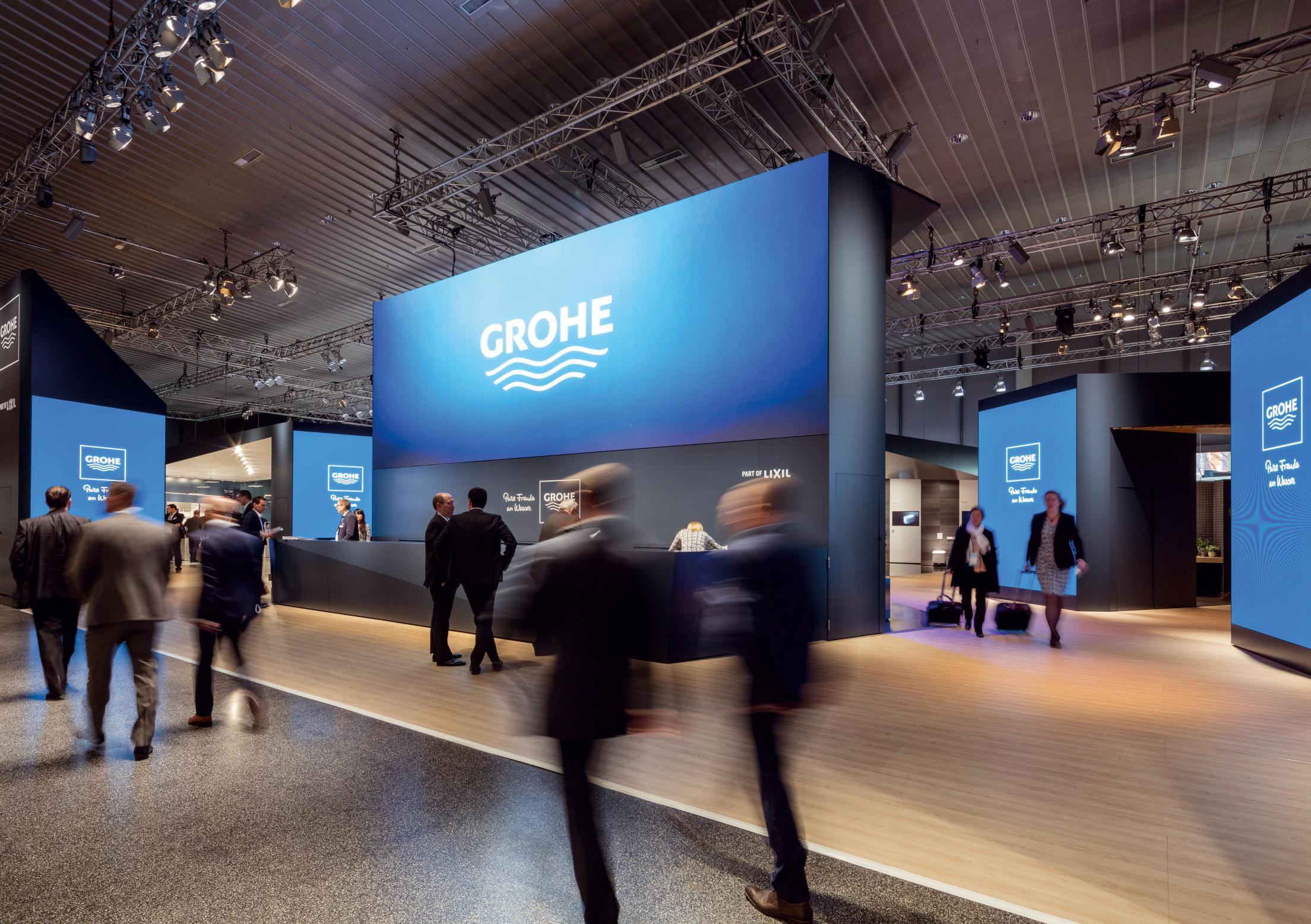 grohe ish messestand 2017 winner fair and exhibition. Black Bedroom Furniture Sets. Home Design Ideas