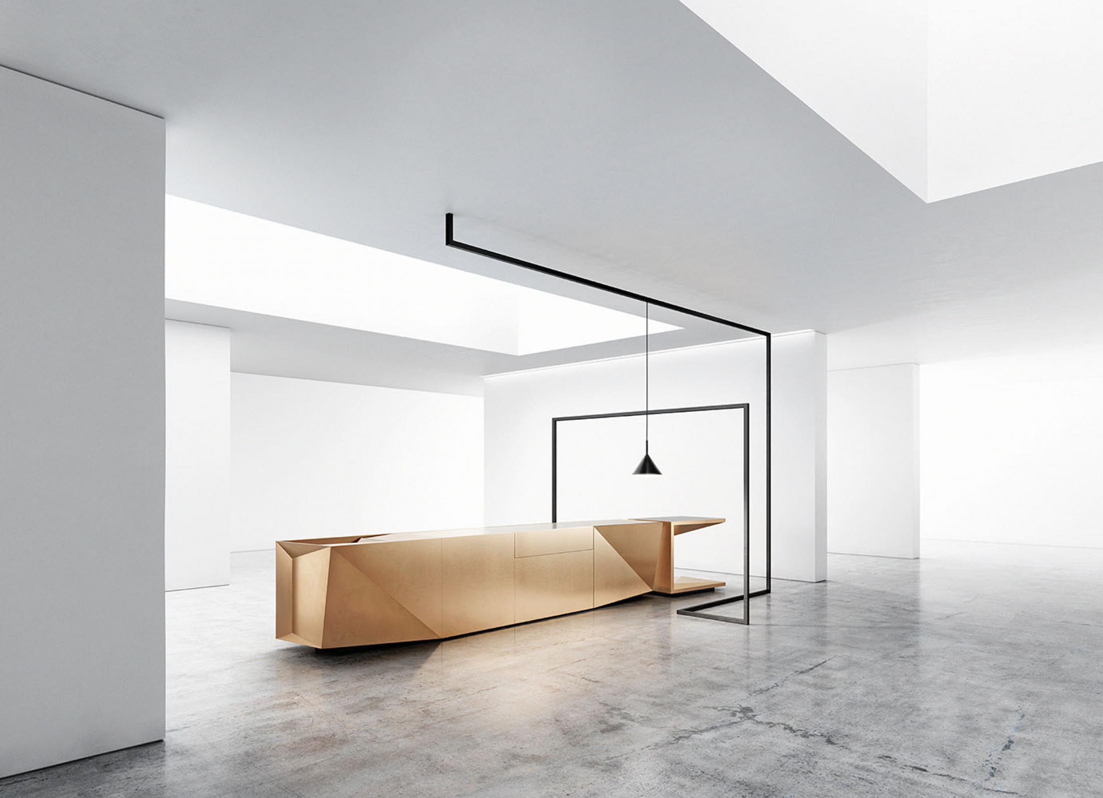 küche fold mit hightech oberfläche m.pod - winner kitchen