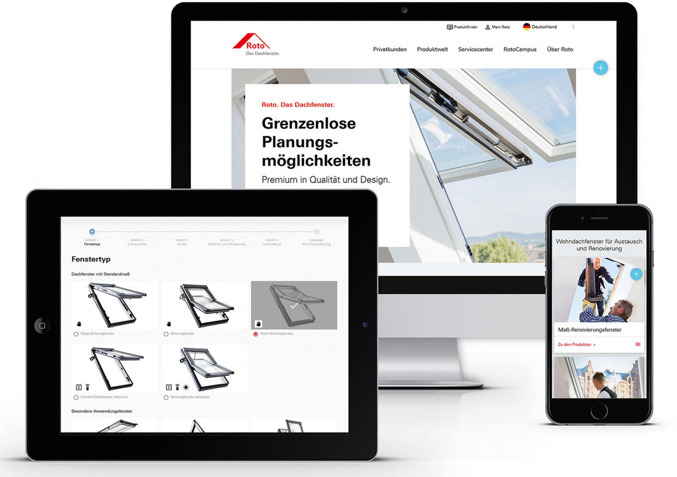 Relaunch Roto Corporate Website